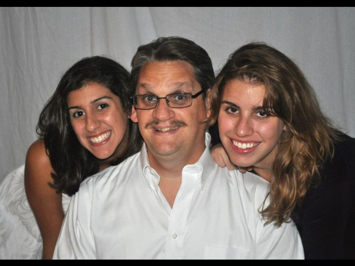 Erik with Daughters